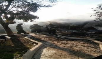 مصرع سيدة في حريق شب في بناية سكنية في حي بيت حنينا