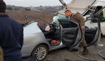 حادث طرق مروع بالقرب من الجش وعدة اصابات منها الحرجة