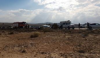 مصرع شخصين واصابات متفاوتة في حادث اصطدام سيارتين في الجنوب