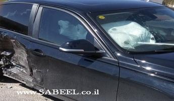 إصابة سائق من المغار في حادث سير على مفرق حنانيا
