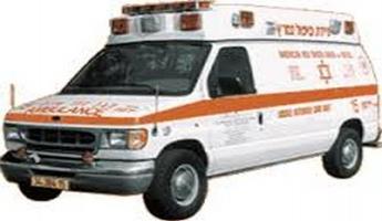 كسرى : حادث واصابة شاب 18 عاما بالغة الخطورة