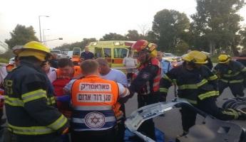 اصابتان خطيرتان وثلاث اخرى متفاوتة في حادث سير في الجنوب