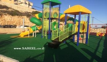 بيت جن : جمعيّة نسيج ، المجلس المحلّي وبالتعاون مع بيت الشهيد الدرزي يفتتحون المرحلة الثانية من حديقة الأبناء