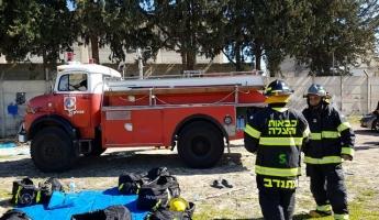 تأهيل طاقم متطوعين للإطفاء والانقاذ واستلام سيارة اطفاء لبلدة ابو سنان في المراحل الاخيرة.