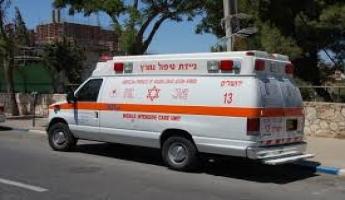 سقوط 3 اولاد في الناصرة من ارتفاع 6 امتار في منزل واصلبة احدهما خطيرة