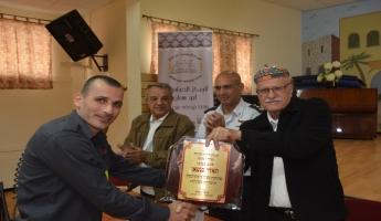 نقطة اطفاء في ابوسنان والشيخ مشلب يقول :حدث تاريخي للمحافظه على سلامة المواطنين وممتلكاتهم.
