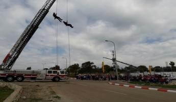 الاطفاء والانقاذ: بلدة كفر كما الشركسية تشهد يوم جماهيري بمشاركة مئات الطلاب.