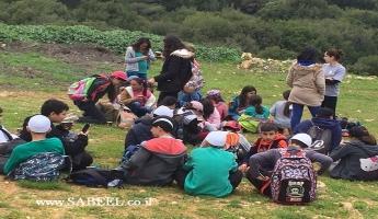 وادي الحبيس في حرفيش يحتضن دورات الجوّالة التّابعة لجمعيّة حماية الطّبيعة في رحلة وتجربة فريدة