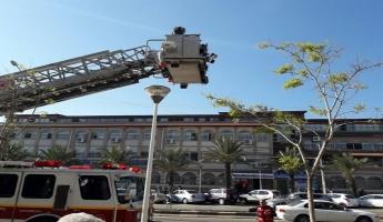كايد ظاهر: الاطفاء والانقاذ يجري تمرينا...