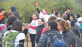مشاركة واسعة للمُجتمع العربيّ بمسار على جبل الجرمق ضمن مُشارَكة أكثر من 20،000 مواطن بِيوم مسار إسرائيل الأوّل لجمعيّة حماية الطّبيعة