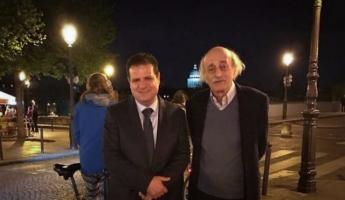 النائب أيمن عودة يلتقي الزعيم اللبناني وليد جنبلاط