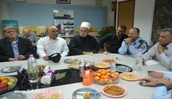 المغار: اجتماع لرؤساء المجالس الدُّرزيَّة والرّئيس...