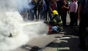 الاطفاء والانقاذ: مدينة عرابة تشهد يوم جماهيري...