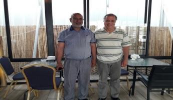 السيد عطية الأعسم رئيس المجلس الاقليمي للقرى غير المعترف بها في الجنوب يلتقي كايد ظاهر والاتفاق على برنامج ارشادي لهذه القرى