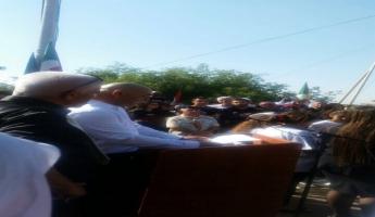 وزير التعليم نفتالي بينت يطلب من السيد ايال أسعد أن يقرأ خطابة في مسيرة ضد العنف لذكرى وجدان -صرخة وجدان -