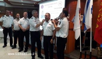 ترقيات في المنطقة الشمالية بسلطة الاطفاء والانقاذ من بينها ترقية الضابط شعلان معدي لرتبة كولونيل.
