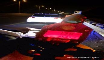 نتانيا والقبض على سائق من يركا بسرعة 198 كلم/ ساعة