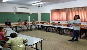 جمعيّة حماية الطّبيعة في مخيّم صيّف...