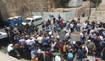 مقتل مقدسيين2 في راس العامود  والطور اثناء تفريق اعمال الاحتجاج والمظاهرات