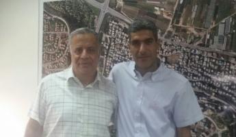 رئيس مجلس الفريديس السيد احمد بدرية يلتقي كايد ظاهر والاتفاق على برنامج ارشادي شامل للسلامة والامان في البلدة.