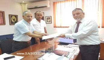 في مؤتمر صحفي النائب د. عبد الله ابو معروف يقدِّم استقالته رسميا من الكنيست