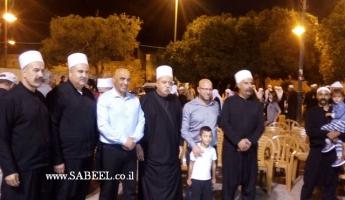 الاحتفال باختتام مخيم التوعية التوحيدية في مقام النبي شعيب عليه السلام