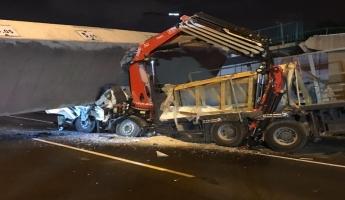 منطقة تل ابيب - انهيار جسر والشرطة تهرع