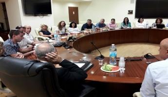 المدير العام لوزارة التعليم شموئيل أبواب يلتقي مفتشي التعليم اللا منهجي في المجتمع العربي والبدوي