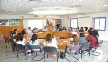 أفتتاح دورة متطوعات في ابوسنان لسلطة الاطفاء والانقاذ