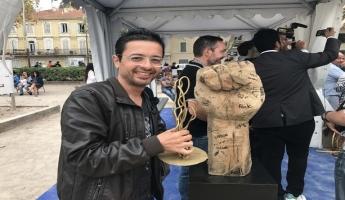 فنان الكاريكاتير الفلسطيني محمد سباعنة يفوز بجائزة  مهرجان الاستاك للرسوم الصحفية والكاريكاتير في فرنسا