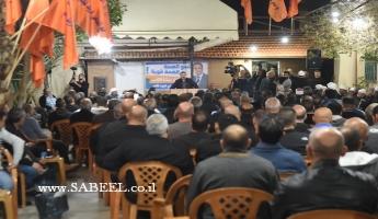 المغار: اجتماع جماهيريّ ضخم لدعم وتأييد مُرشّح الرّئاسة المُحامي فريد غانم في الجولة الثّانية