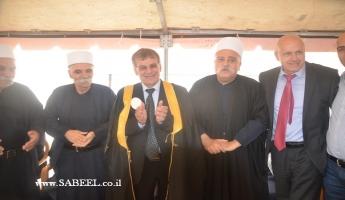 فضيلة الشيخ موفق طريف يزور المحامي فريد غانم...
