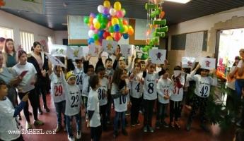 المغار : المدرسة الإبتدائية (د) تحتفل بمرور مائة يومٍ تعليمي