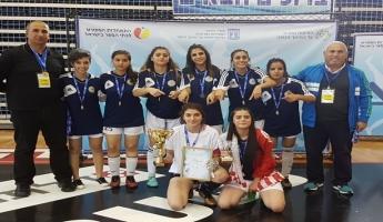 فخر للوسط العربي وللدّولة !  فريق سخنين للبنات من مدرسة جمال طربيه سيمثّل دولة إسرائيل في البطولة