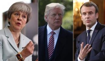 عدوان ثلاثي امريكي ، فرنسي ، بريطاني على سوريا: اكثر من 100 صاروخ سقط عليها
