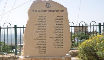 المغار : مراسم احياء ذكرى شهداء معارك اسرائيل من ابناء البلدة