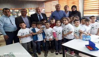 رغم عيد الفصح المدير العام للوزارة شموئيل أبواب يخصّص زيارته لليوم الثّالث على التّوالي لجهاز التّعليم العربي