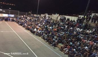المغار : دوري السلام لكرة القدم المصغرة يدعوكم لحضور افتتاح الدوري يوم الجمعة 6.4.18 في تمام الساعة الخامسة والنصف على ملعب مدرسة قاسم غانم الشاملة