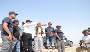 شرطة إسرائيل تواصل هذا اليوم السابع بحثها عن سائق الشاحنة أيمن جابر المفقود منذ يوم الخميس الماضي بعد انقلاب شاحنته في السيول