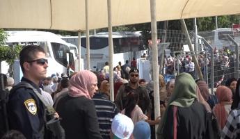 جهوزية شرطة إسرائيل لصلاة يوم الجمعة الثالث في الحرم القدسي الشريف من شهر رمضان