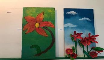 معرض الفنون الرابع يتوج فعاليات الاعدادية (أ) – المغار