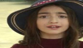 المغار : اصدار اغنية -خليك انسان- لسيلار غانم التي تبلغ من العمر 11 سنة