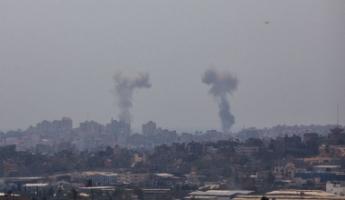 غارات إسرائيلية على اكثر من 40 هدفا في قطاع غزة