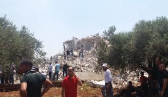 هدم منزل في سخنين وعشرات الاصابات بين المواطنين منها الخطيرة جراء اطلاق العيارات المطاطية من قبل الشرطة