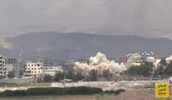 غارات روسية على الجنوب السوري بعد فشل المفاوضات