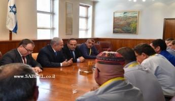 نتنياهو يترأس جلسة للجنة الوزارية لشؤون الطائفتين الدرزية والشركسية