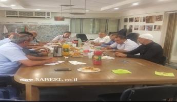 في جولس: اجتماع منتدى السلطات المحلية الدرزية وتعيين طاقم مفاوض في قانون القومية