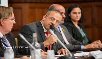 د. أمير خنيفس يتحدث في البرلمان البريطاني عن الأوضاع في سوريا  والمخطوفين من أبناء الطائفة الدرزية