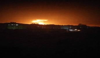 اسرائيل تشن هجومًا بالصواريخ على قواعد سورية باتجاه مدينة اللاذقية ووسائط الدفاع الجوي السورية تتصدى لهذه الصواريخ القادمة من عرض البحر