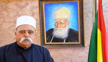 فضيلة الشيخ موفق طريف يطالب الجهات المسؤولة بإعادة فتح معبر القنيطرة في الجولان
